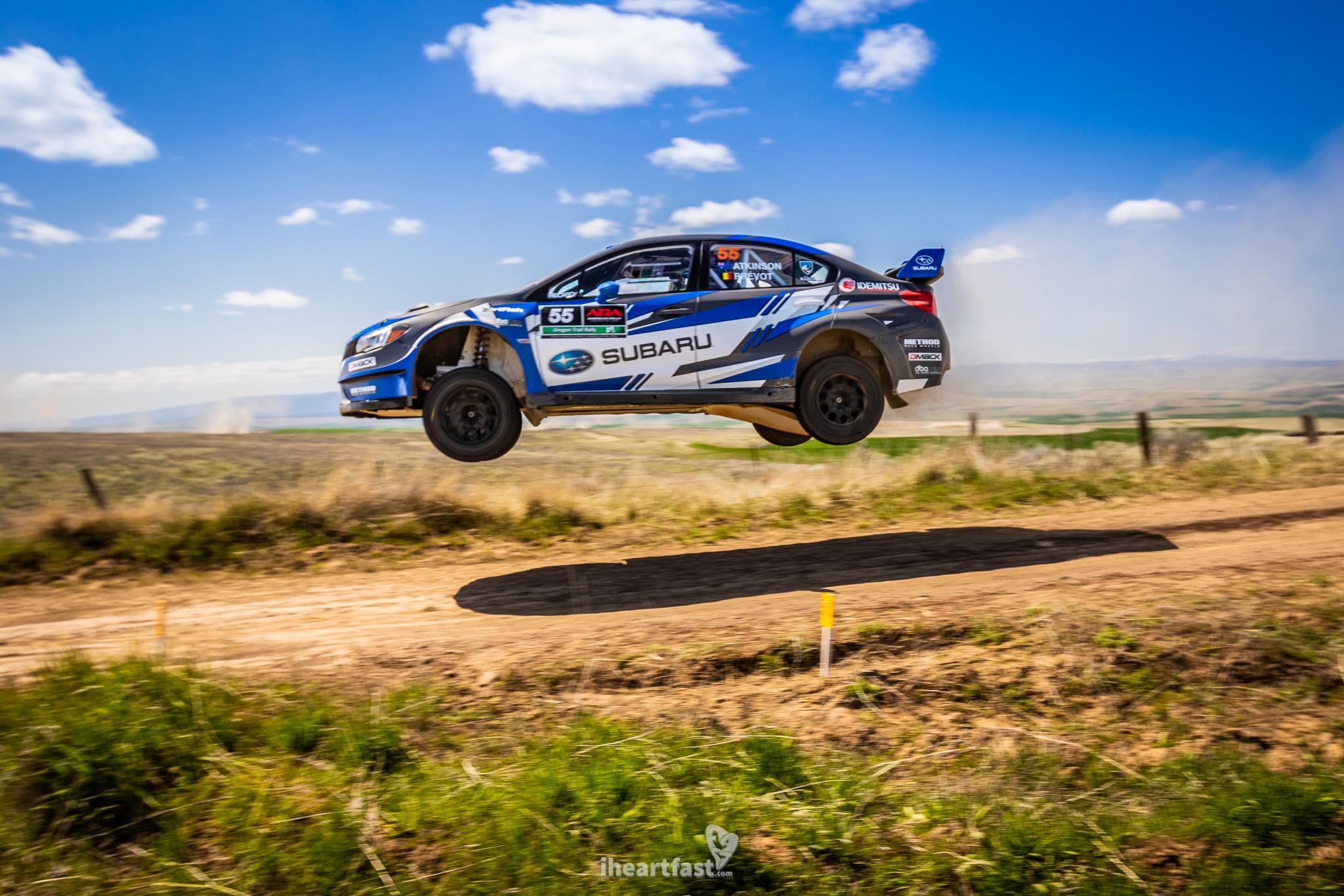 Chris Atko Atkinson soaring through the air