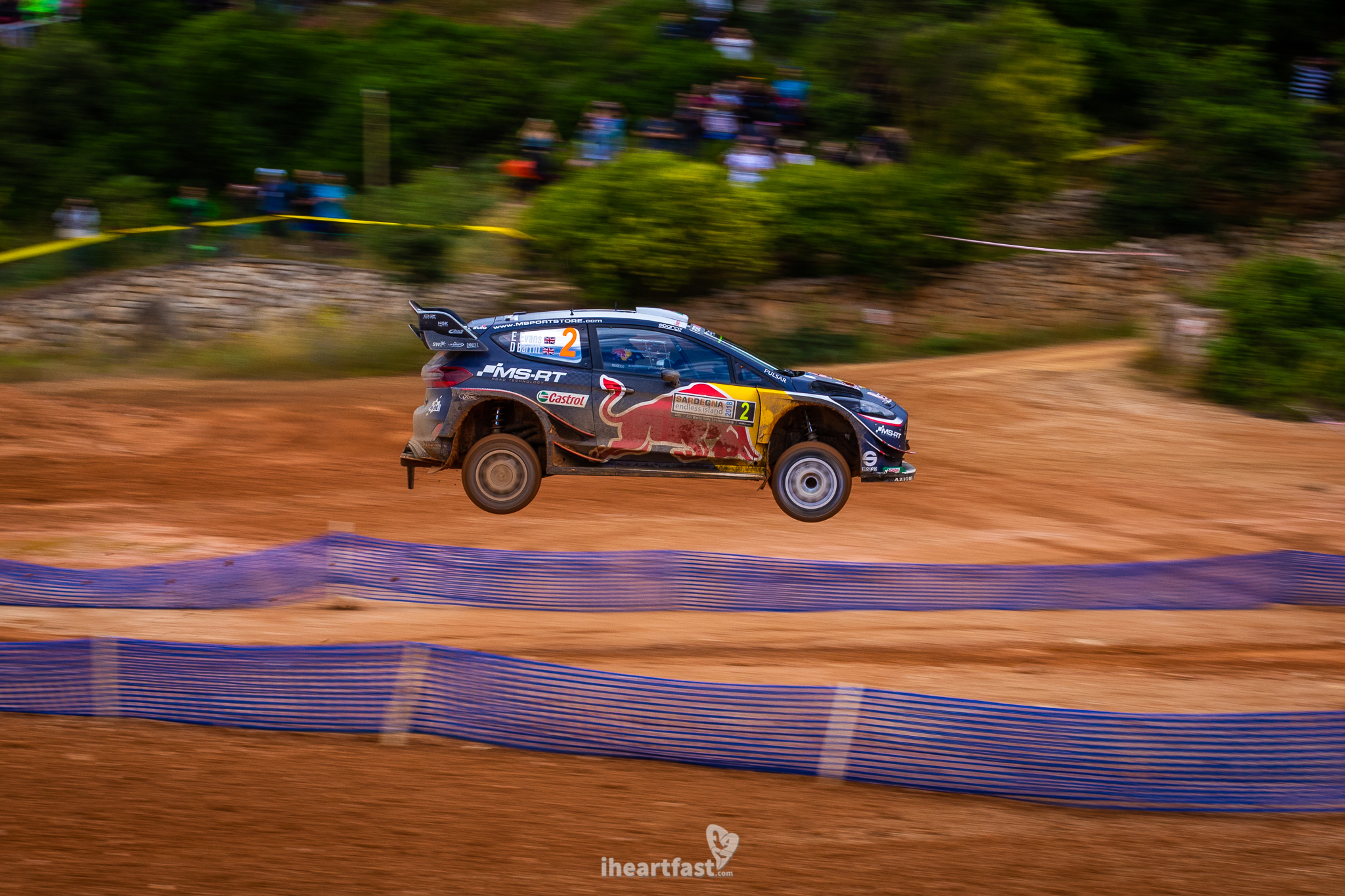 Elfyn Evans flying high at Rally Italia Sardegna