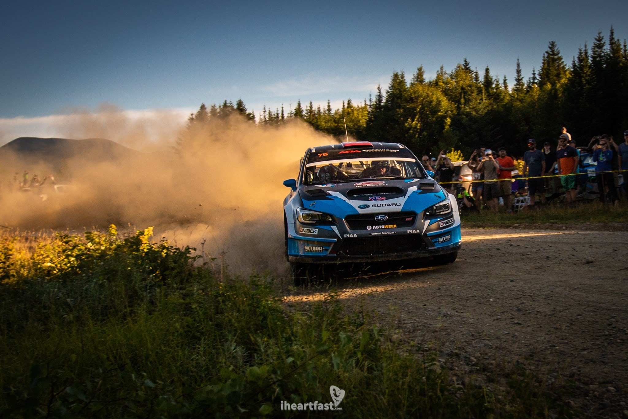 David Higgins and Craig drew head into Ojibwe Forest Rally with the championship lead