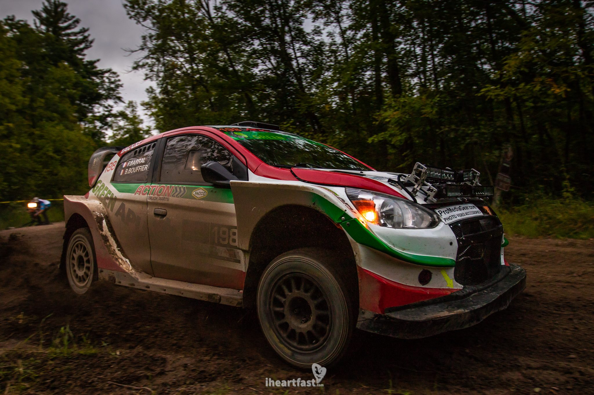 Bryan Bouffier and Florian Barral Green APU Racing