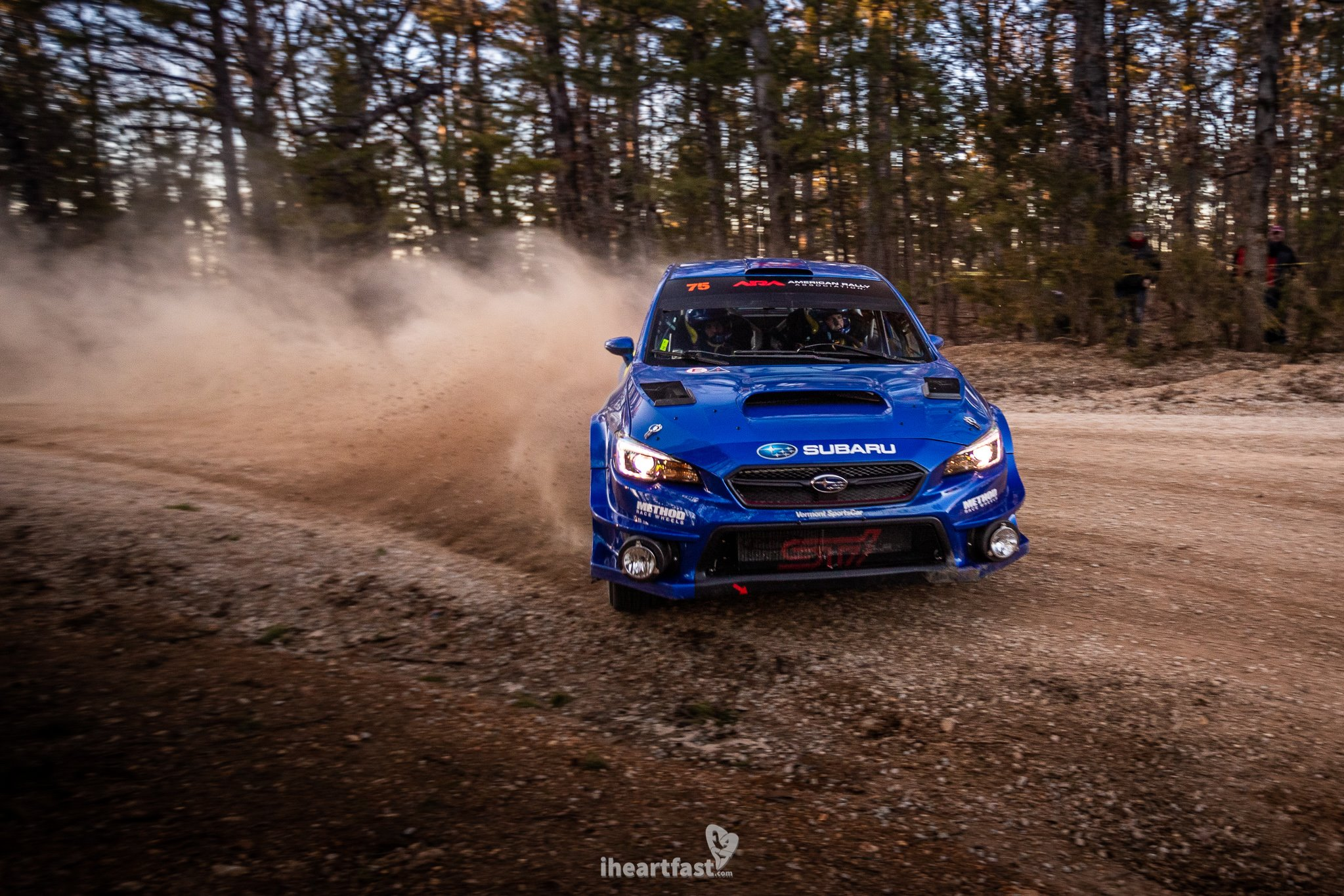 David Higgins and Craig Drew Subaru Motorsports 100 Acre Wood