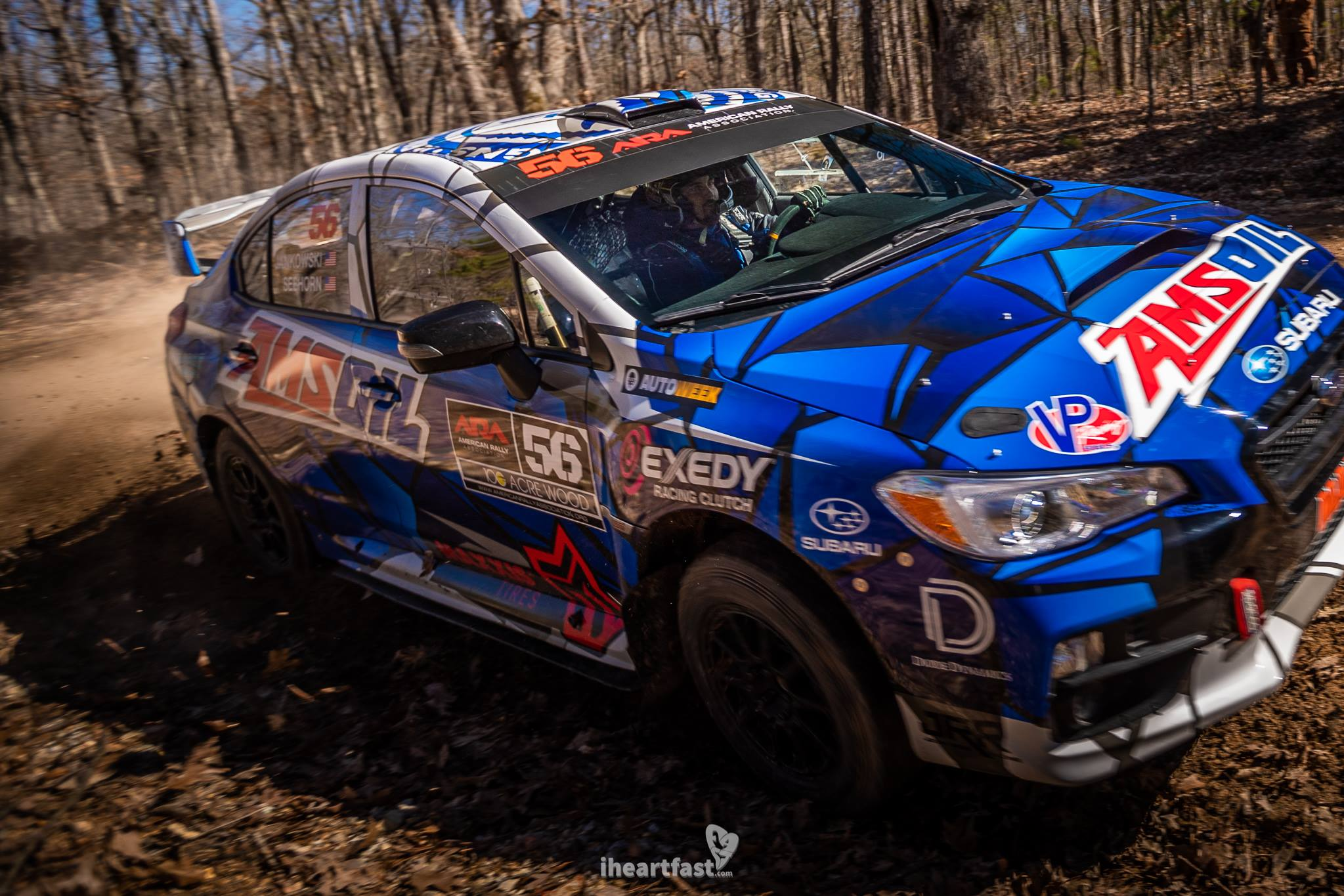 Seehorn Rally Team at 100 Acre Wood