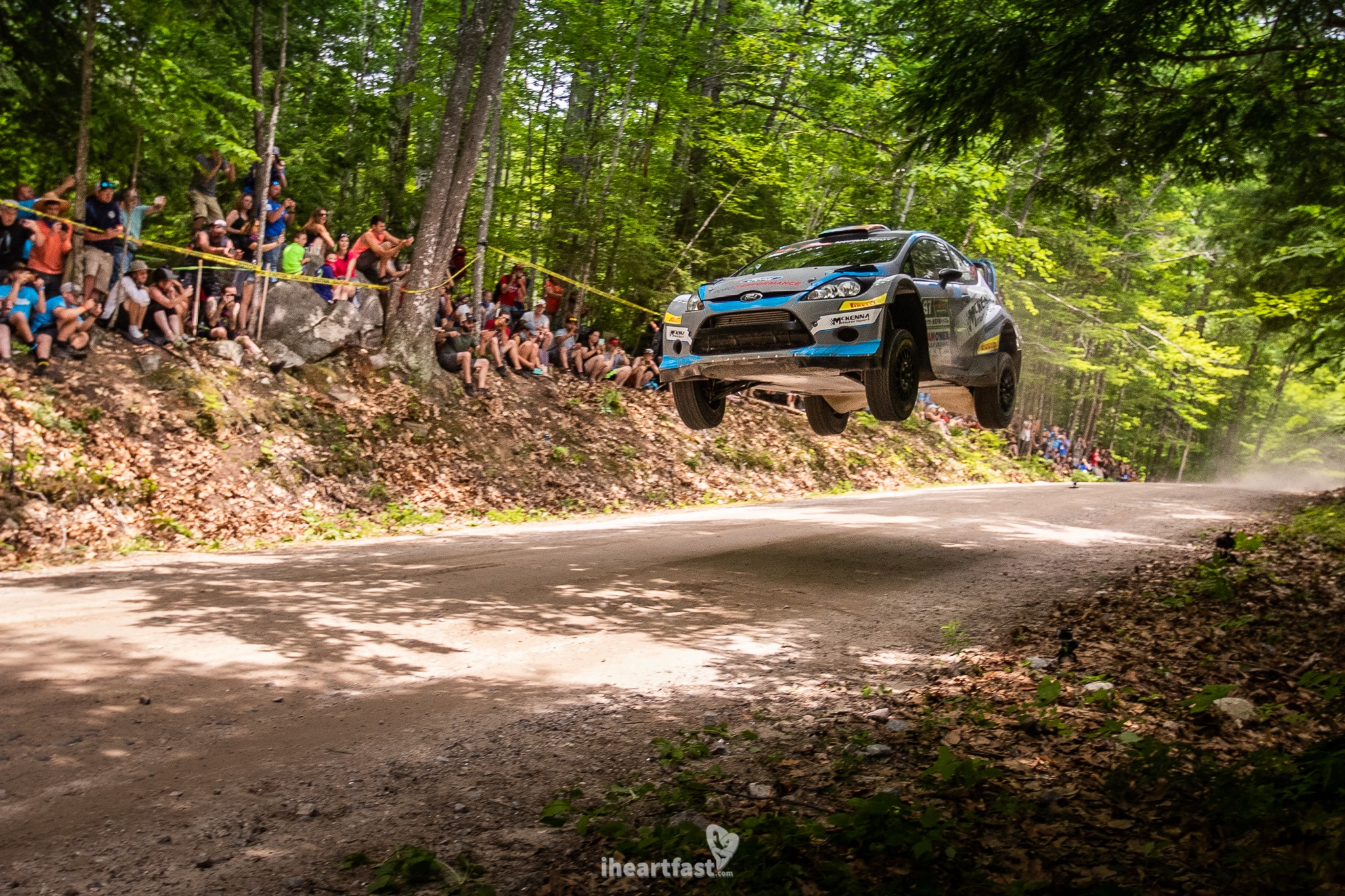 McKenna Motorsports flying high at New England Forest Rally