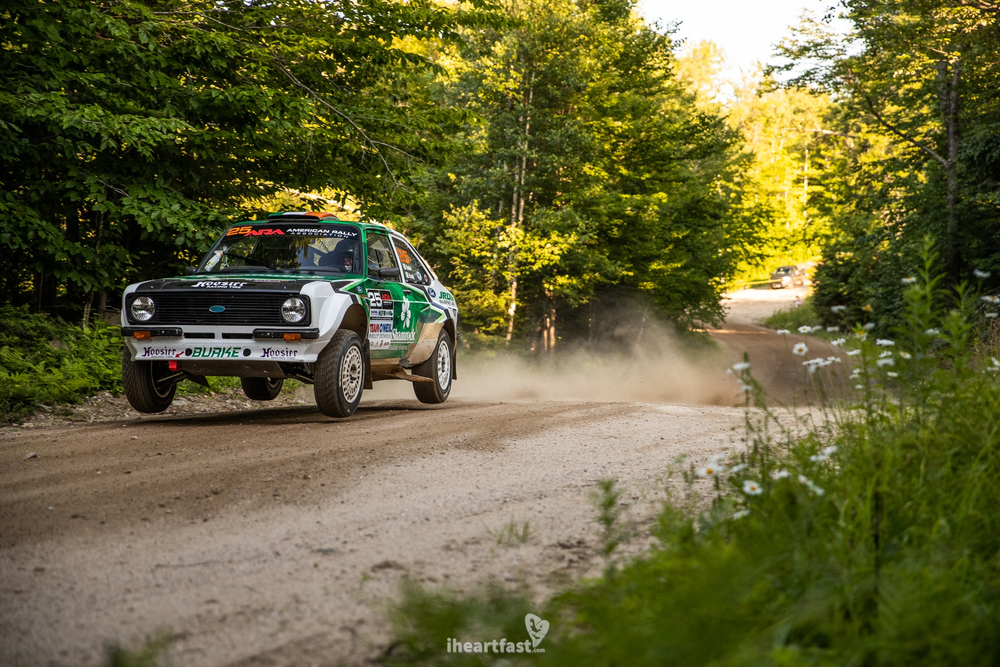 MK2 Escort at New England Forest Rally