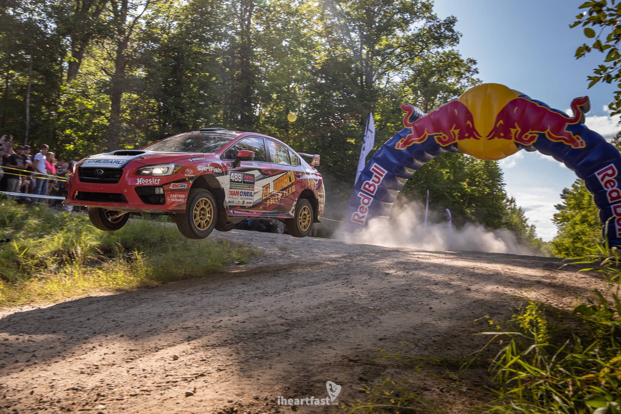 El Diablo Rally Team sending it over the Red Bull Crossroads jump.
